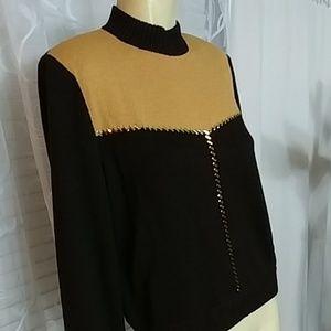 ST. JOHN Knit Pullover
